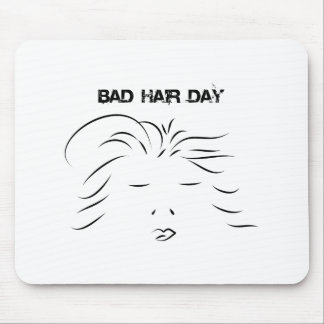 Bad Hair Day Mouse Pad