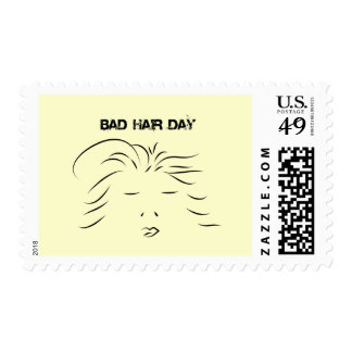 Bad Hair Day Stamps