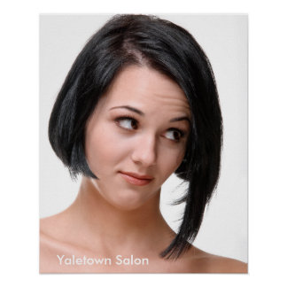 Bad Hair Day Salon Poster