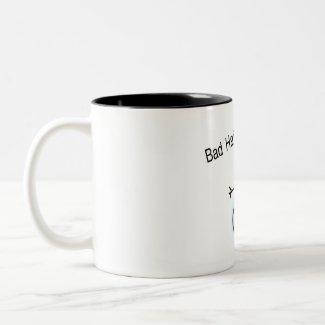 Bad Hair Day Snowman mug