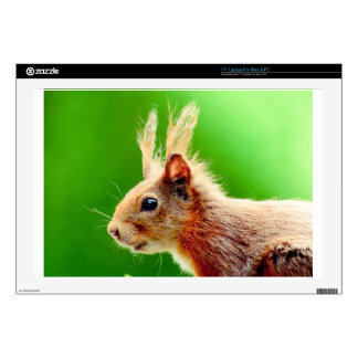 Bad hair day squirrel skin for laptop