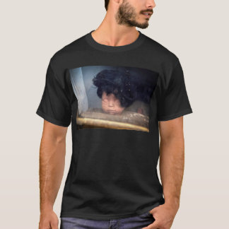 Bad Hair Day Vintage Doll In Window With Hair T-Shirt