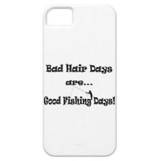 Bad Hair Days are Good Fishing Days! iPhone SE/5/5s Case