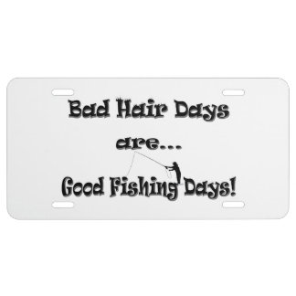 Fly fishing license plates fly fishing license plate for Day fishing license