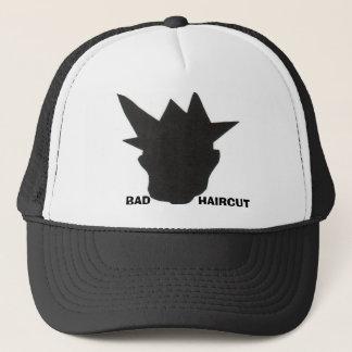 bad haircut 2 trucker hat