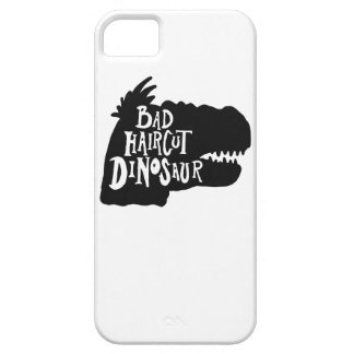 Bad Haircut Dinosaur Phone Case iPhone 5 Cases
