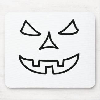 Bad Halloween face Mousepad