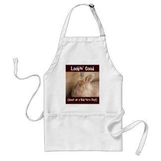 Bad Hare Day Adult Apron