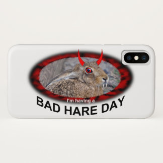 Bad Hare Day iPhone X Case