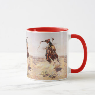 Bad hoss 11 oz coffee cup