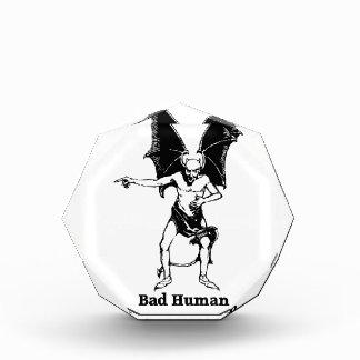 Bad Human mocking Devil Award