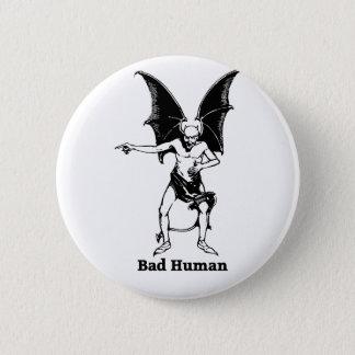 Bad Human mocking Devil Button