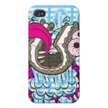 Bad Humor Ice Cream Sandwich iphone Cover Covers For iPhone 4