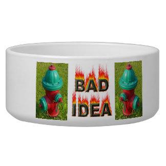 Bad Idea Dog Bowl