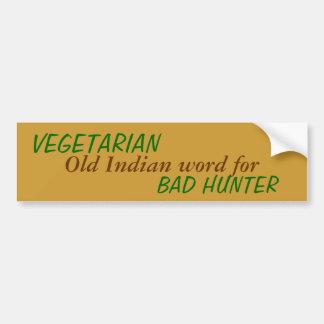 Bad Indian Hunter Bumper Sticker