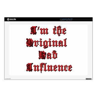 Bad Influence Decal For Laptop