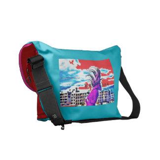 Bad Jama Messanger Bag- by Kay Loven Messenger Bag
