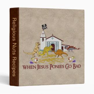 Bad Jesus Ponies Binder