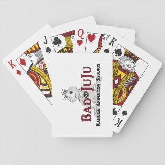 Bad JuJu Standard Index Face Playing Cards