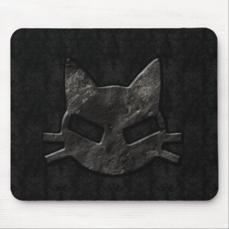 Bad Kitty Black Gothic Mousepad