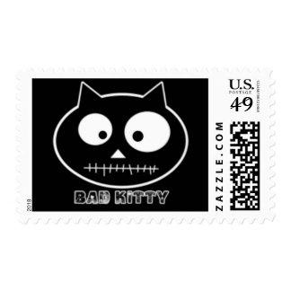 Bad Kitty Stamp