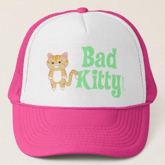 bad kitty trucker hat
