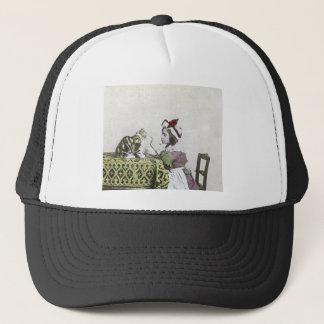Bad Kitty Victorian Tea Party Vintage Little Girl Trucker Hat