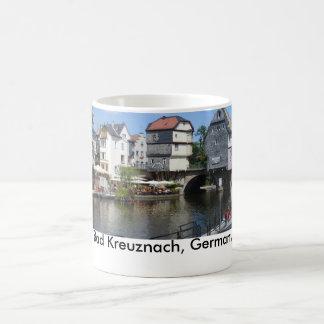 Bad Kreuznach, Germany Bridge Houses Coffee Mug