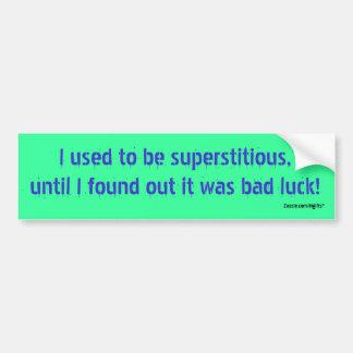 Bad Luck Bumper Sticker