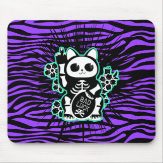 Bad Luck Kitty Mouse Pad