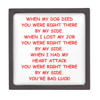 bad luck premium trinket boxes