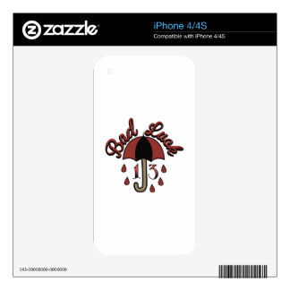 Bad Luck Skin For iPhone 4