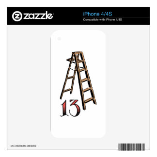 Bad Luck Skins For iPhone 4S