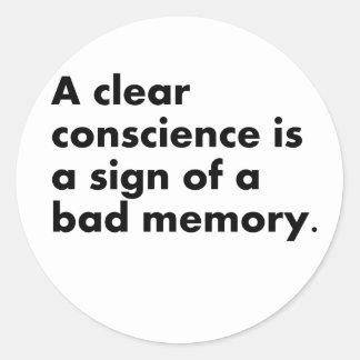 Bad Memory Stickers