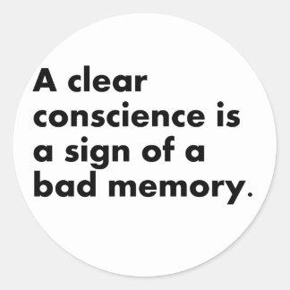 Bad Memory Sticker