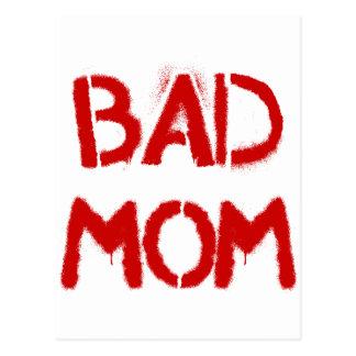 Bad Mom Postcard