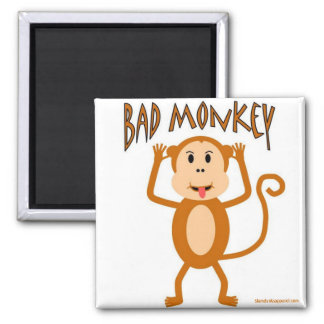 Bad Monkey magnet