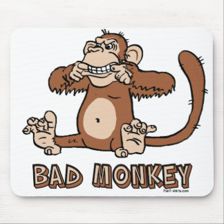 Bad Monkey mousepad