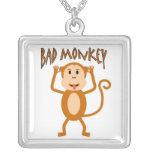 Bad Monkey Necklace