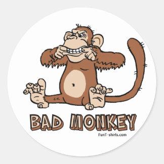 Bad Monkey stickers