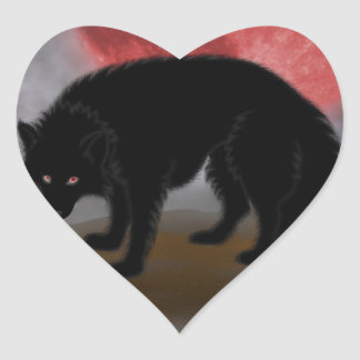 Bad Moon Rising (Wolf) Sticker