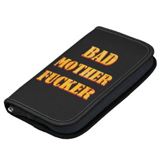 Bad mother fucker blood splattered vintage quote planners
