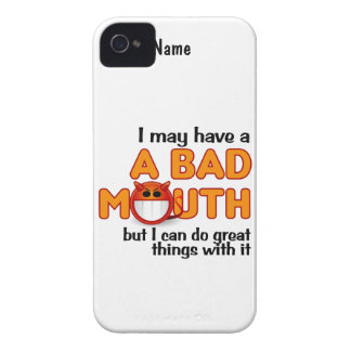 Bad Mouth custom iPhone 4 Case-Mate iPhone 4 Cover