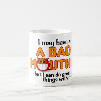 Bad Mouth mug
