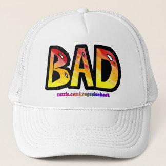 Bad Orange Spraypaint Graphic, Customize Me! Trucker Hat