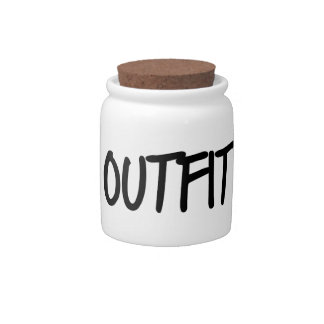 Bad Outfit Day Candy Jars