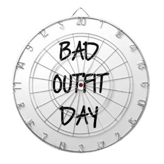 Bad Outfit Day Dartboard