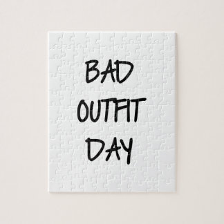 Bad Outfit Day Jigsaw Puzzle