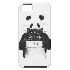 Bad panda iPhone SE/5/5s case at Zazzle