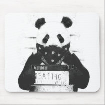 Bad panda mouse pad